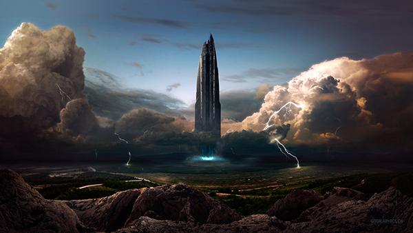 wallpaper digital art gtgraphics.de tobias roetsch photoshop science Space  future fantasy universe planet composing