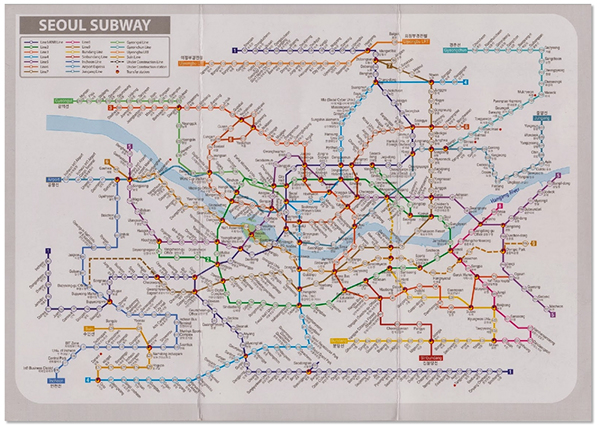 Seoul Subway Map 2015.Reimagining Seoul Metro 2015 Revisited On Scad Portfolios
