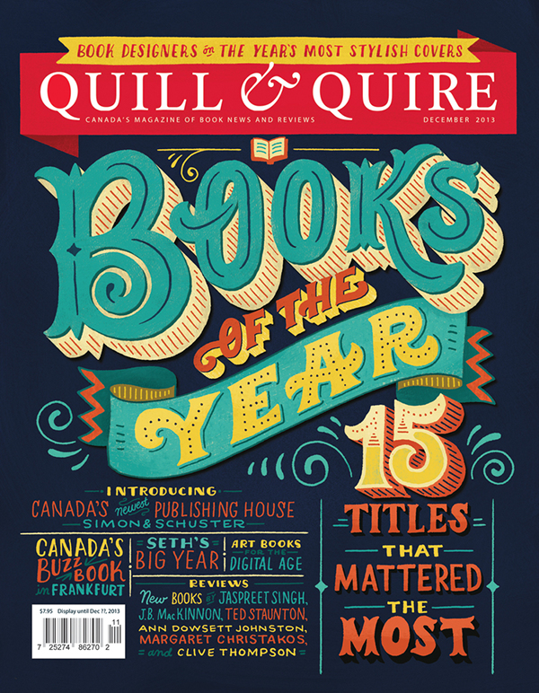 Quill & Quire Cover on Behance