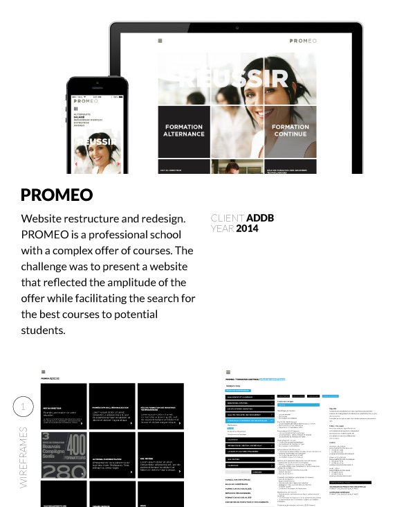 ux user experience Webdesign wireframes interaction
