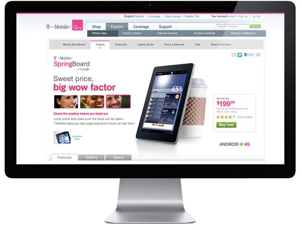 T-Online Login Tablet