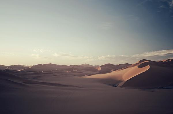 Algeria  landscape moon