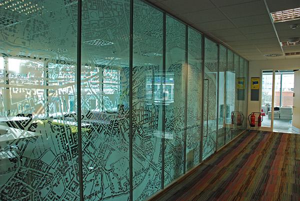 Uea london glass manifestation on behance for Window manifestations