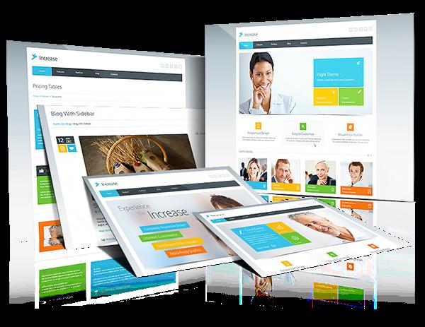 Increase WordPress Theme