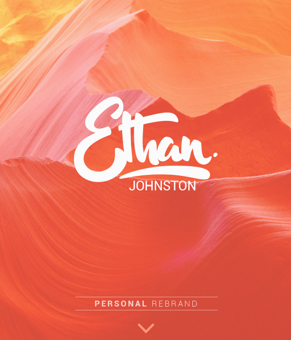 ethan brand logo type Rebrand badge insignia personal identity banner Header London Colourful  sketch vector