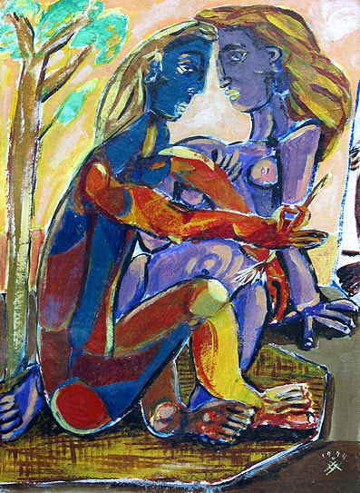 Adobe Portfolio aquarell Multimedia  painting