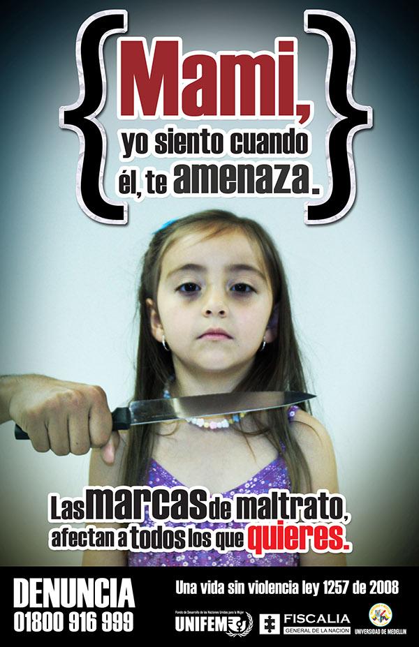 Campaña sobre el maltrato a la Mujer on Behance