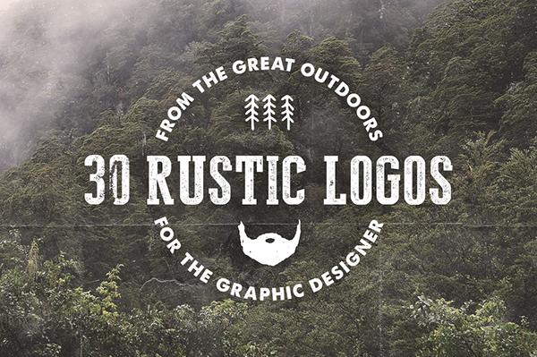 30 Rustic Hand Drawn Logos on Behance
