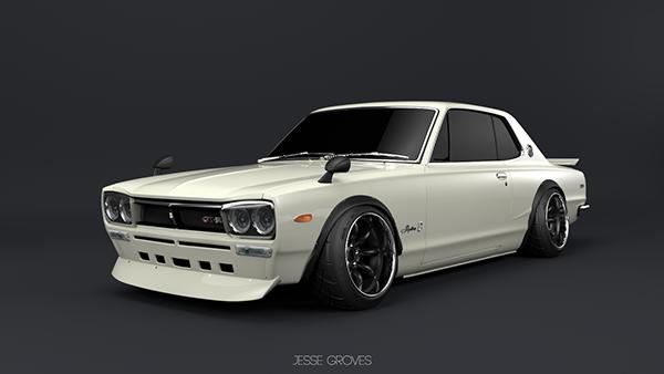 1971 Nissan Skyline 2000gtr On Behance