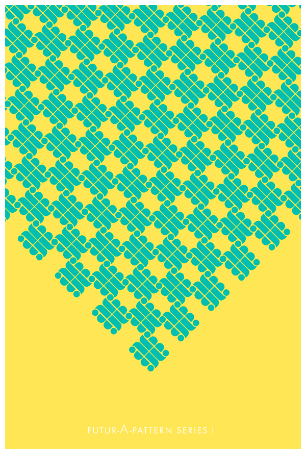 type pattern geometric modular Futura