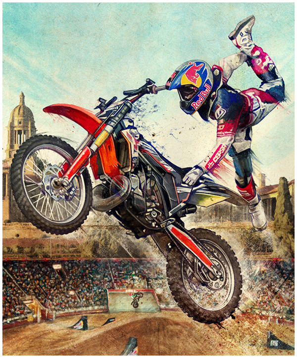 Red Bull X Fighters On Behance