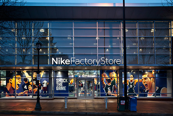 factory store nike