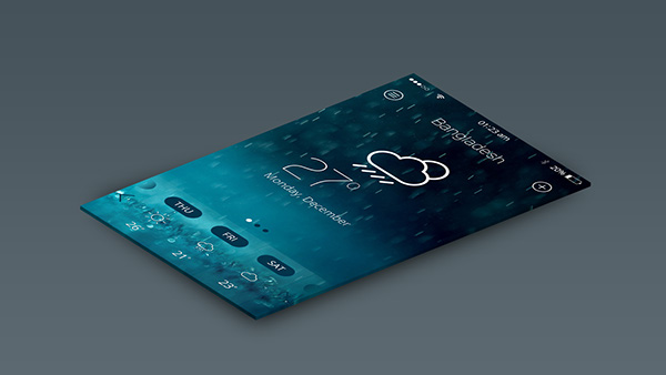 app blue dashboard Display elements infographic HD ios8 ios7 ios6 mobile new release phone returns weather