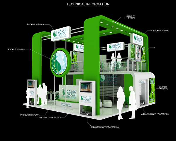 Exhibition Stall On Behance : Exhibition booth design at the best prices in vietnam