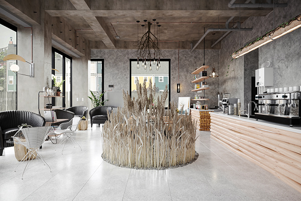 Simsim Café by Starsis Architects