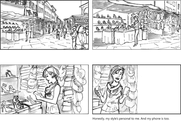Microsoft: Nokia Lumia 630 Commercial Storyboards On Risd Portfolios