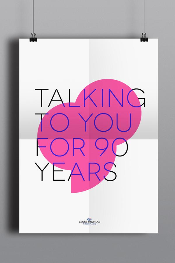 anniversary design,Radio Icon