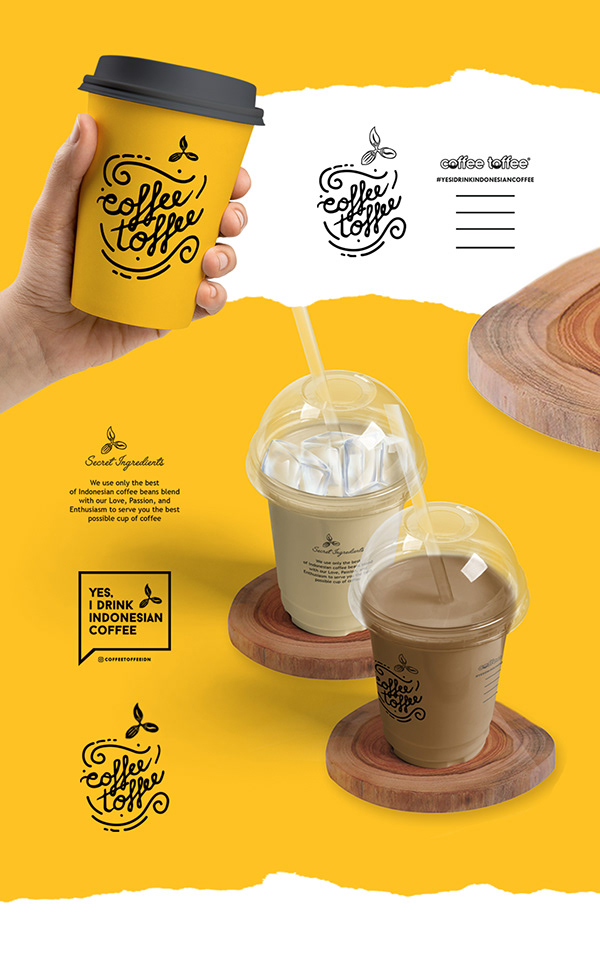COFFEE LABEL AND PACKAGING