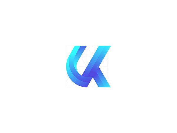 UK modern letter logo design   Logo Design   2020