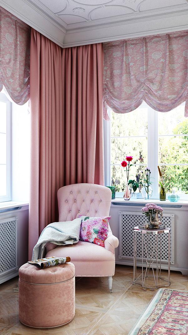 優秀的18套粉紅色房間欣賞