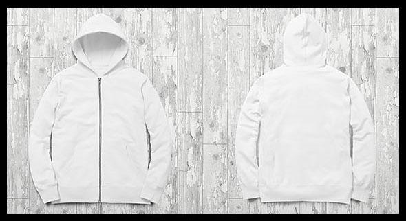 zip up hoodie tee collection mockup on behance