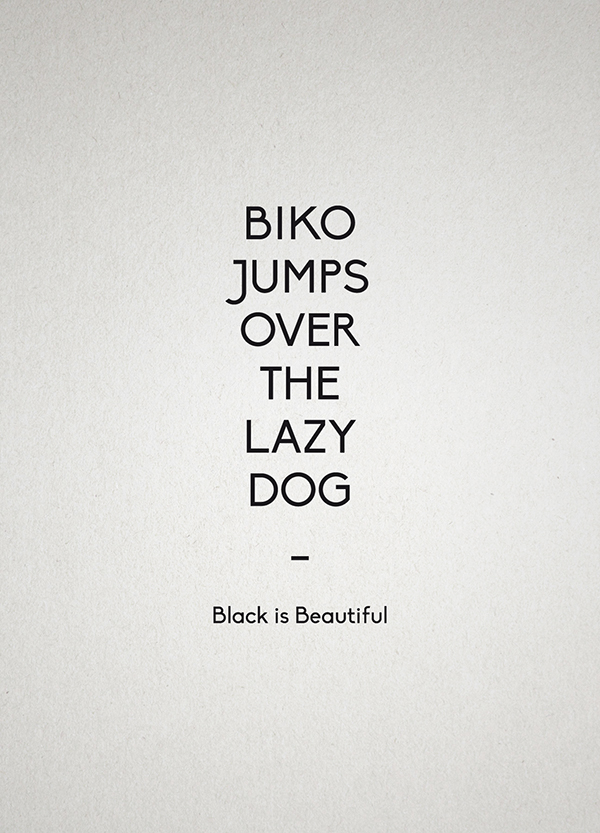 Biko Regular Font Download