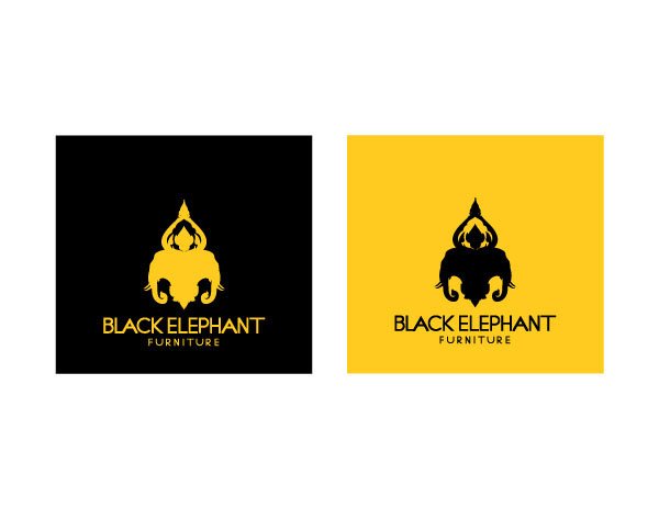 4b98ceb927825f Black Elephant Furniture Brand Identity on Behance