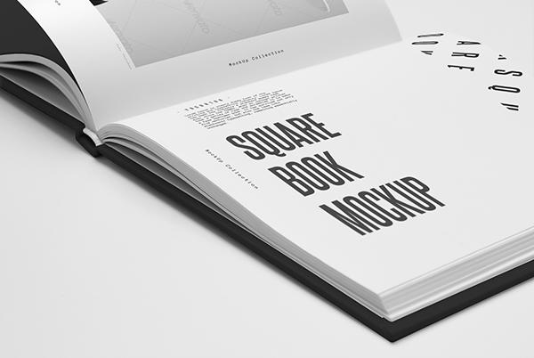 book cover hard mock mock-up Mockup modern paper photo-realistic photorealistic present presentation presentation brochures realistic showcase