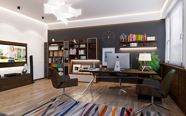 Outstanding Personal Office Room On Behance Largest Home Design Picture Inspirations Pitcheantrous