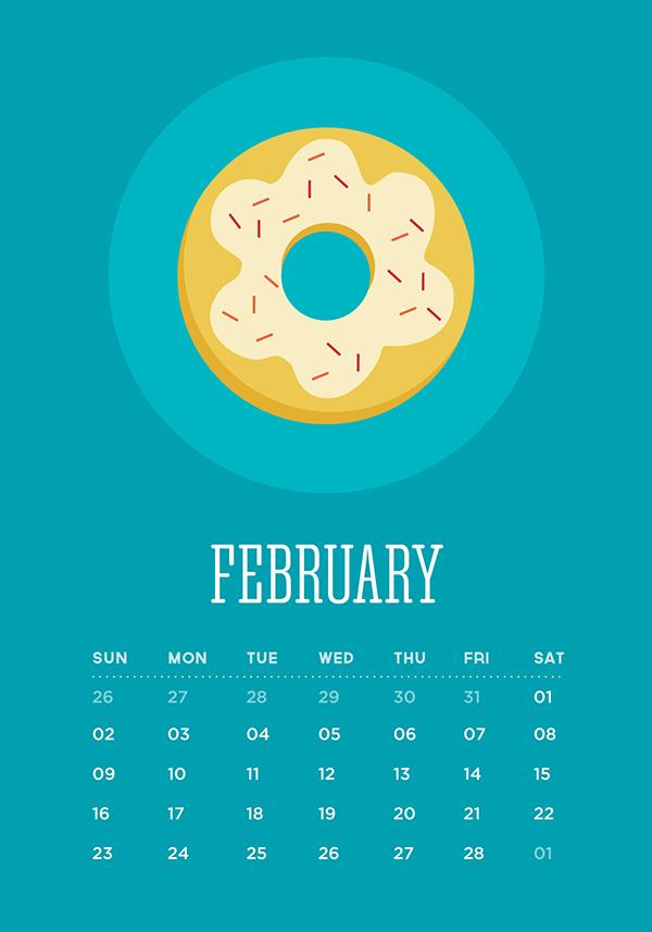 calendar 2014 Calendar desserts the sweet life ice pop ice cream cake Candy lollipop sugar cane biscuit doughnut donut