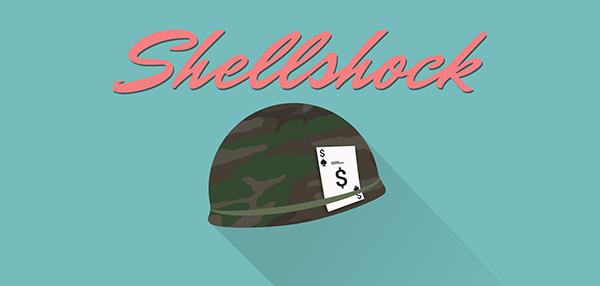 Shellshock logo explot design shell shock
