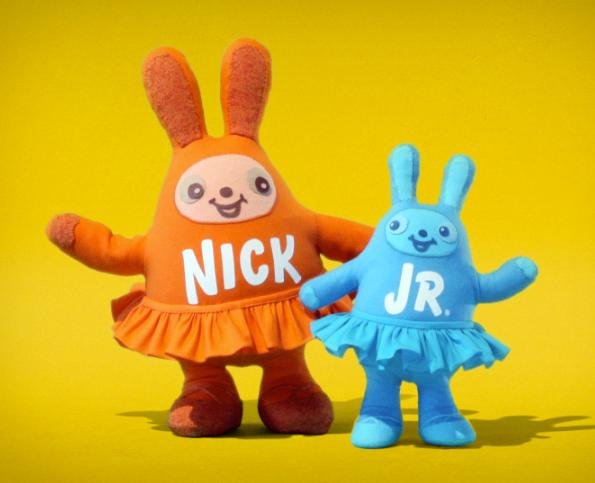 "Nick Jr ""Huggables"" Logo IDs 2008 ( bunnies) on Behance"