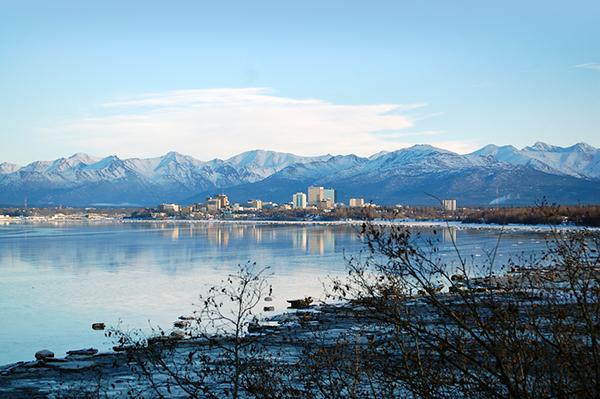 photogrphy Landscape anchorage city line