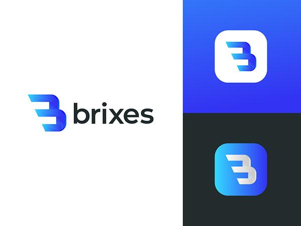 B modern letter logo | B logo design | Logo design 2020