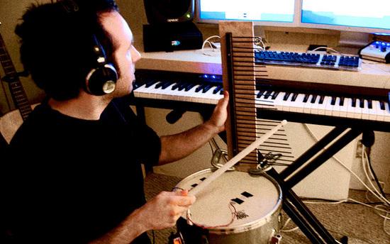 Diego Stocco diego Stocco sound designer Composer composition conduit soundtrack experimental score SEGA High Voltage Software Nintendo wii Custom Built Instruments Techniques