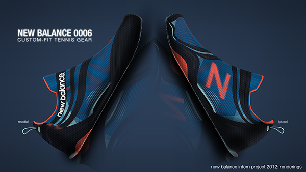 New Balance Intern Project 2012 on Behance