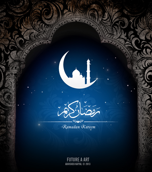 Ramadan kareem and eid greeting card design on behance m4hsunfo