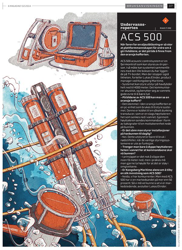 ACS 500 for Kongsberg by Bartosz Kosowski