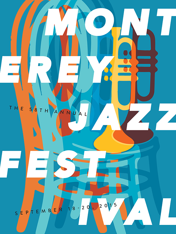Monterey Jazz Festival 2015 on AIGA Member Gallery