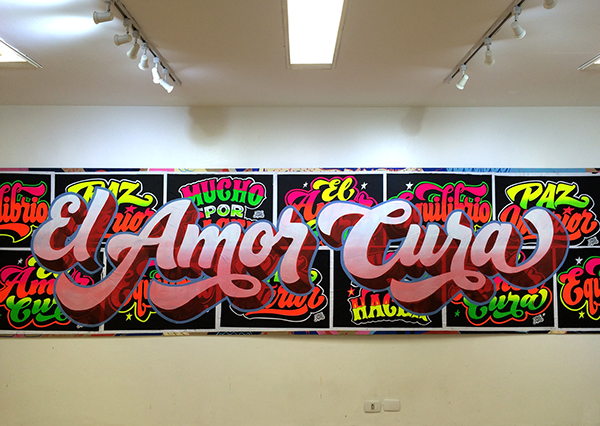 ELLIOT TUPAC: Screen printing - Sign painter -Lettering