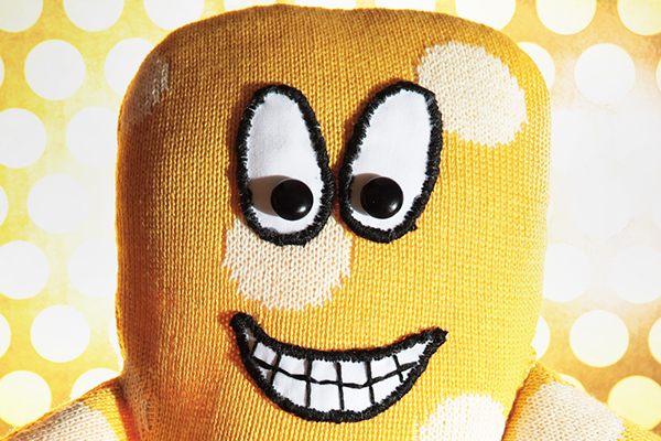 handemade toys monsters textile design