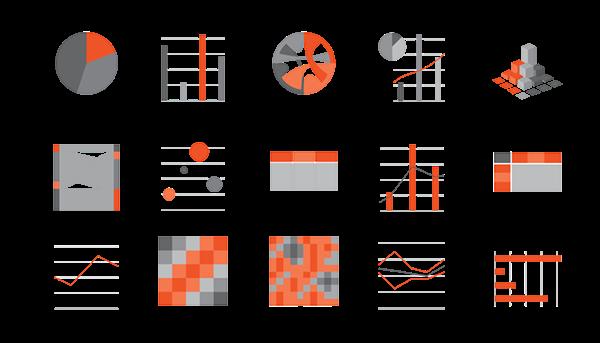 pictogramme, logo, diagrammes, données, data, graphiste, lozère, cévennes, julie mercey