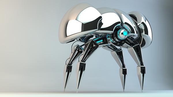 Robot Model (Cinema 4D) on Behance