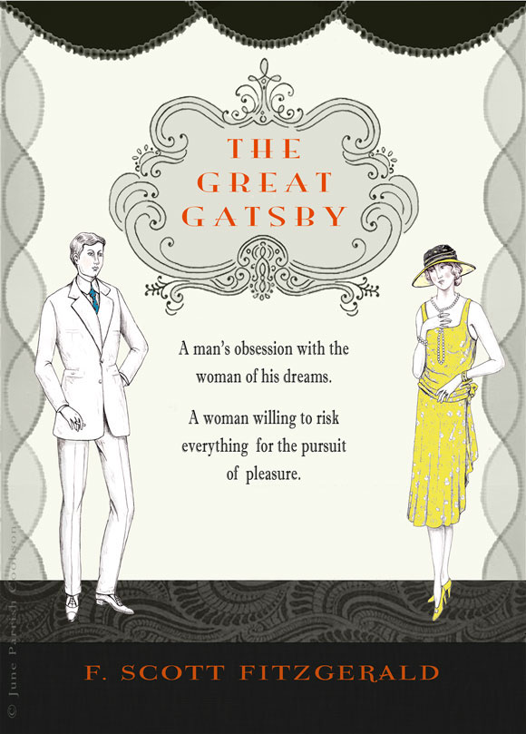 an analysis of characters in the great gatsby by f scott fitzgerald
