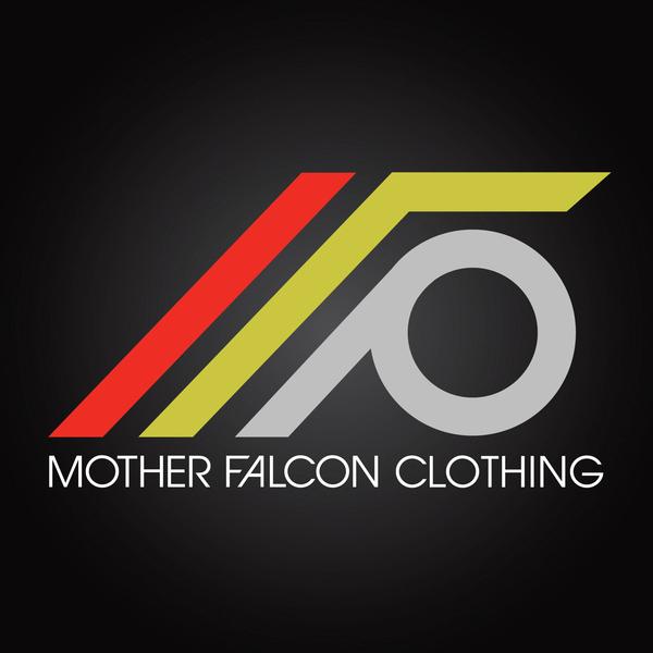 mother falcon clothing logo design on behance
