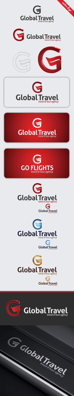 Global Travel Logo Template On Behance