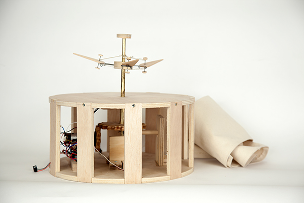 Interactive Arts interaction woodworking Arduino gears