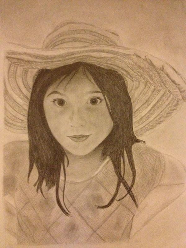 Progression of a Portrait on Behance
