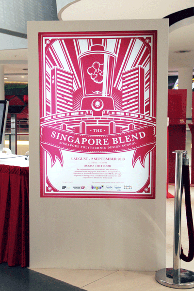 Singapore Blend Exhibition on Behance