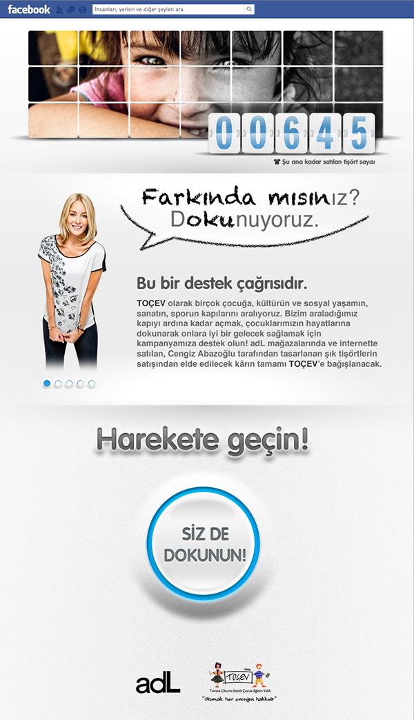 TOÇEV campaign html/css